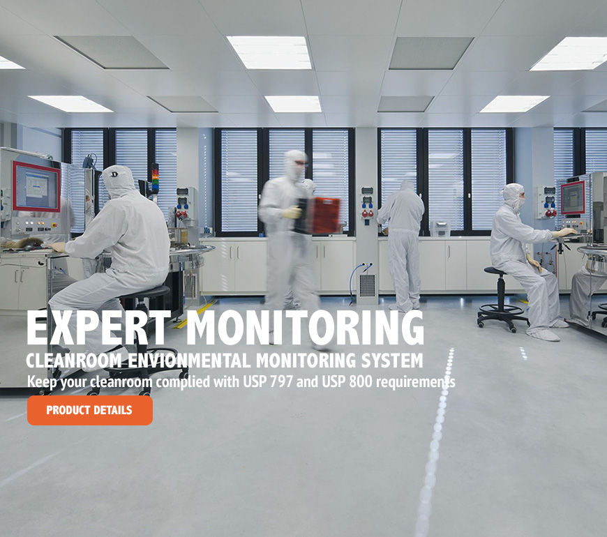 Cleanroom Control and Monitoring
